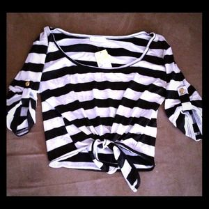 *REDUCED* Striped Blouse/Shirt.