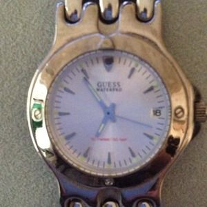 Accessories - Silver Guess Watch
