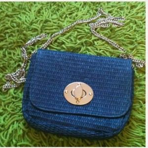 H&M Clutches & Wallets - Blue H&M mini bag