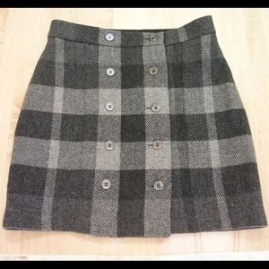 Burberry Dresses & Skirts - Burberry plaid wool skirt