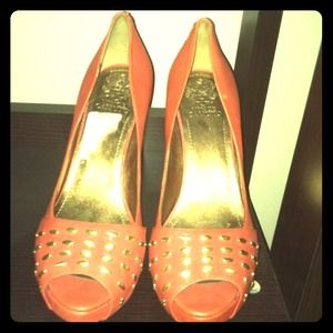 Vince Camuto Shoes - Get a jump on next season with these coral heels!