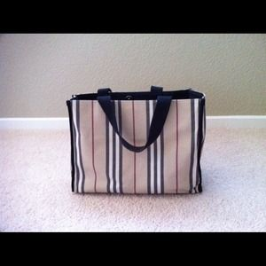 Burberry Handbags - Burberry canvas tote bag