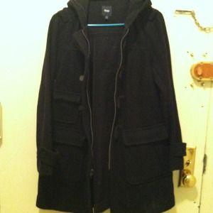 Gap Black toggle coat