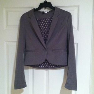 Fashion staple grey blazer