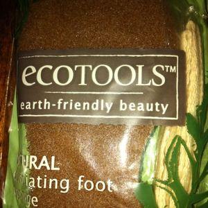 ecotools natural exfoliating foot sponge