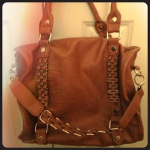 Handbags - sold! Brown leather tote