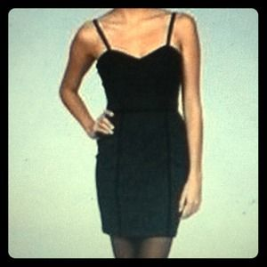 Jessica Simpson Dresses & Skirts - Jessica Simpson Black Lace Bustier Dress 15/16