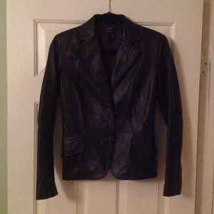 Zara Jackets & Blazers - ❌SOLD❌ Zara Leather Jacket