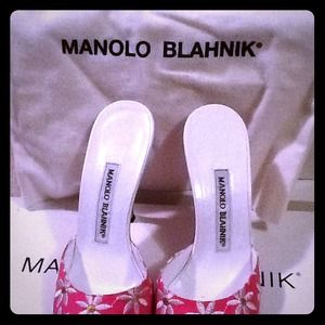 Manolo Blahnik Fun Slides