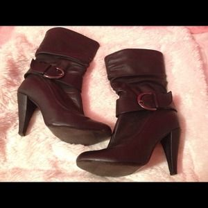 Boots - Size 7 black boots