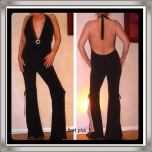 Other - SEXY head turning black jumpsuit