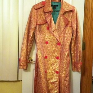 Marc Jacobs Brocade Trench