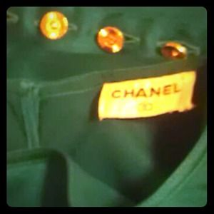 Chanel Blouse in Emerald Green