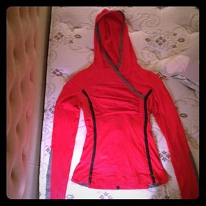 Lululemon Tops - SOLD--Lululemon hooded pullover sweatshirt/jacket