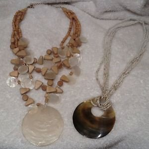 Jewelry - Mixed shell necklace