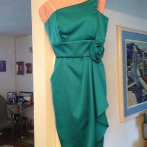 :. Aqua marine dress