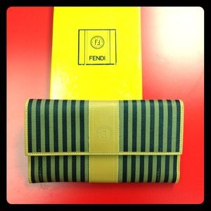 FENDI Clutches & Wallets - Authentic vintage Fendi wallet new in box!