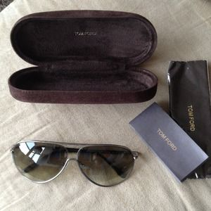 Tom Ford Cecilio aviator sunglasses BRAND NEW