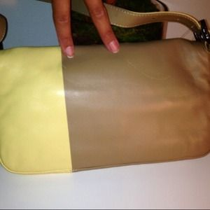 FENDI Bags - AUTHENTIC TAN/YELLOW FENDI HANDBAG - BRAND NEW!