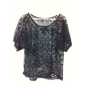 Zara Tops - Zara Crochet like Top