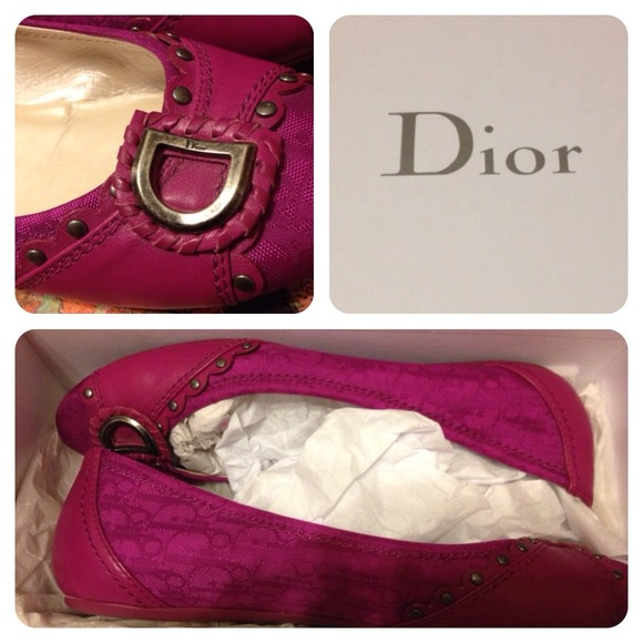 Dior Shoes - 🚩BLACK FRIDAY SALE - Dior Studded Flats