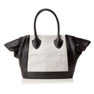 Pour La Victoire Handbags - Pour La Victoire Maison Embossed Croc Medium Tote