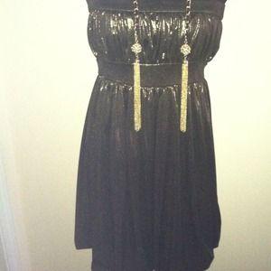 Dresses & Skirts - Metallic Tube Dress