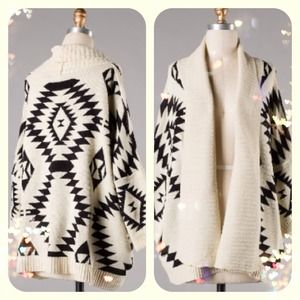Boutique Sweaters - Cozy and trendy Aztec sweater. 1