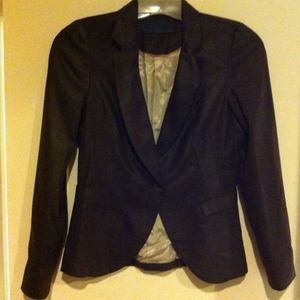 Zara Jackets & Blazers - ⭕RESERVED⭕ZARA Brown faux suede jacket NWOT