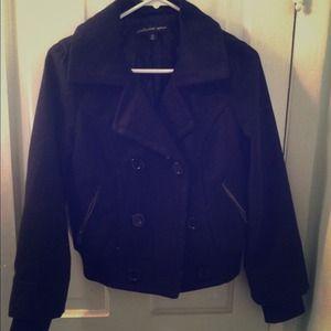 Forever 21 bomber jacket.