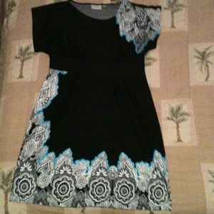 Dresses & Skirts - Black dress with accents