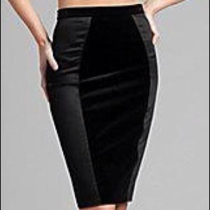 Dresses & Skirts - SOLD-TRADESY-GUESS by Marciano Black Pencil Skirt
