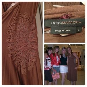 BCBGMaxAzria Dresses & Skirts - BCBG Brown Cute Dress