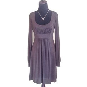 BCBGMaxAzria Dresses & Skirts - ❌SOLD❌BCBG MaxAzria long sleeve brown dress