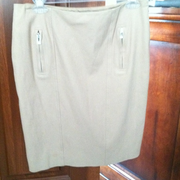 Versace Dresses & Skirts - Reduced Again! Gorgeous Beige Versace Skirt!