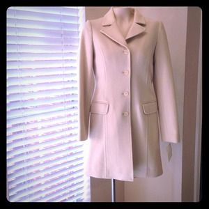 BP. Wool cream coat NWT