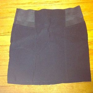 Hold ASOS black stretch mini skirt. Size 10.