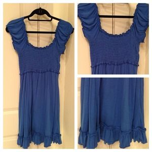Dresses & Skirts - ❌SOLD❌ in bundle 😊Cute Blue Dress