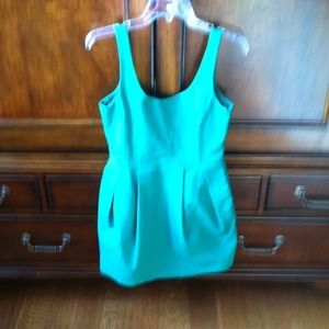 Zara Dresses & Skirts - Reduced! Very Chic Green Zara Dress!