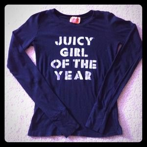 Juicy Couture Tops - Juicy couture long sleeve