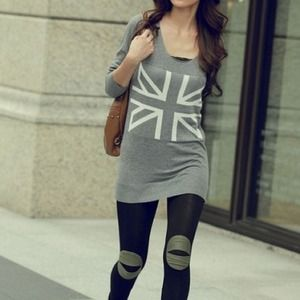 Sweaters - 🌀Out Of Stock🌀Gray Britain •$29
