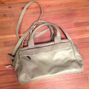 Zara Handbags - Zara Basic top handle/crossbody bag in mint green