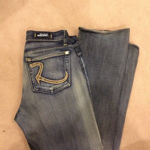 Rock & Republic Denim - Rock & Republic python RR pocket size 28