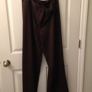 Pants - Brown knit pants