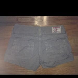 True Religion Other - True religion Khaki Shorts sz 27