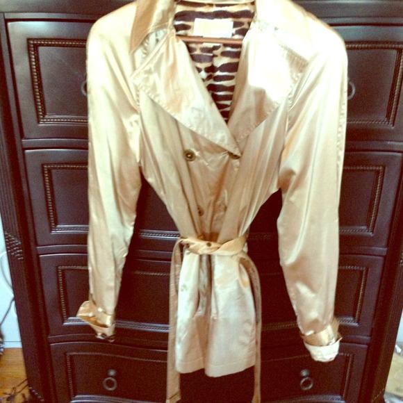 2799fd5859c2 Michael Kors Jackets & Coats | Satin Trench Coat | Poshmark