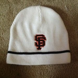 MLB  Accessories - White SF Giants beanie