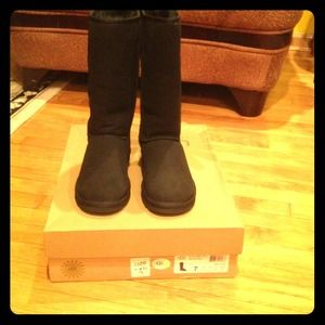 UGG Shoes - Brand New Classic Tall Black Uggs