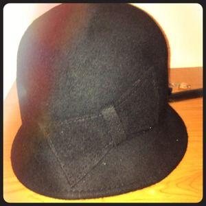 Winter black hat