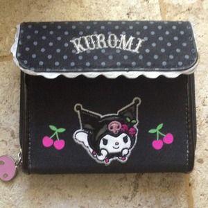 Clutches & Wallets - Hello Kitty: Kuromi Wallet